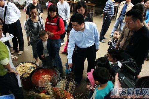 彭水县长率队检查学校及校园周边环境安全