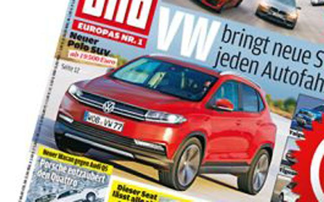 [海外车讯]Polo SUV效果图曝光 明年推出