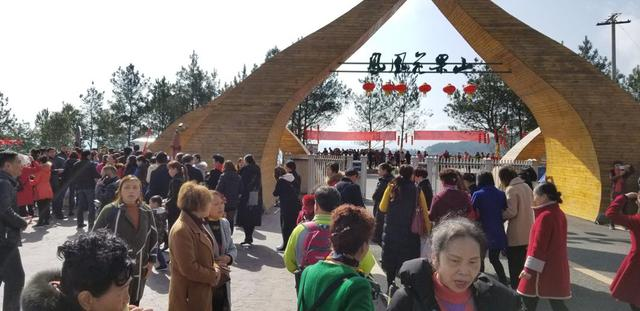 火了!三八女神节凤凰花果山迎客上万人次