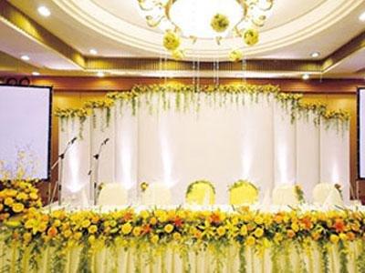 总结六条婚礼会场布置黄金法则