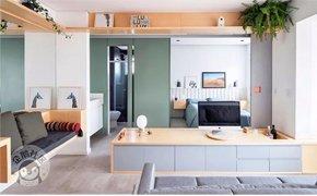 40�O的家也能宽敞舒适