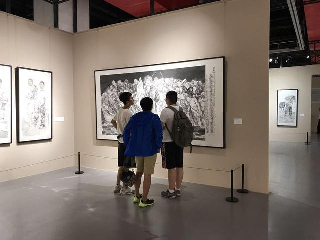 """""""新中国美术家系列——重庆市国画作品展""""开幕"""