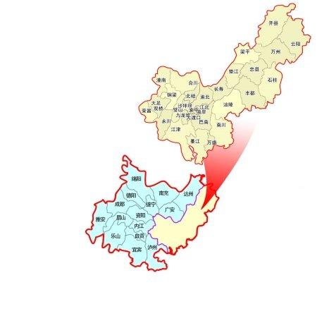 成渝经济区揭开面纱 打造八大支柱产业(图)_重