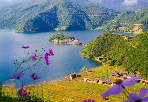 里格半岛与生态公园 泸沽湖十年之约