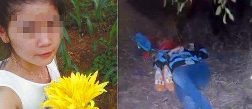 17岁少年枣园内奸杀21岁女孩 作案现场曝光