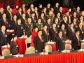视频:重庆市三届人大四次会议领导步入会场