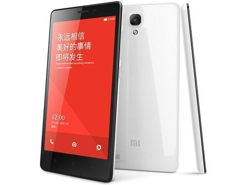小米 小米 红米Note 增强版 联通3G手机(白色)WCDMA/GSM双卡双待单通非合约机 图片