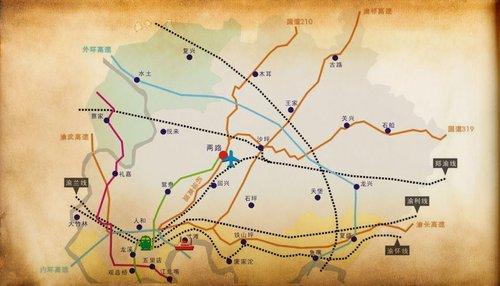 重庆两江新区规划概况