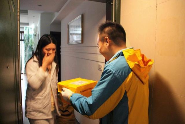 重庆苏宁双十一:物流订单量同比去年增长451.3%,发货及时率98.7%