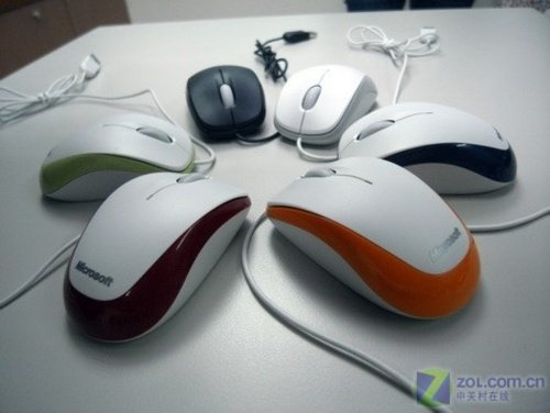实惠 微软精灵鲨500 V2鼠标特价99元