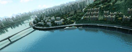 城市新中心崛起  东原抢占头把交椅