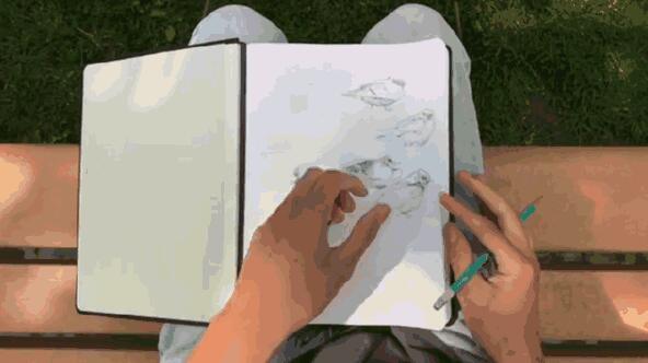 超方便的磁力笔记本 写满了直接加上几张纸
