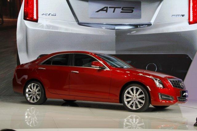 售30.8-43.8万元 凯迪拉克ATS车展正式上市