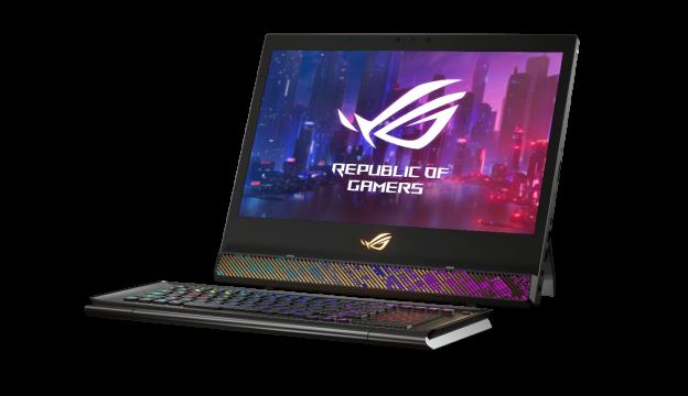 革命性创新设计 CES 2019 ROG发布超神X游戏笔记本