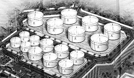 重庆成品油库容量未来5年之内增加一倍