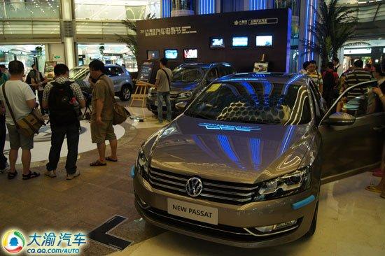 上海大众全系车型亮相重庆首届汽车电影节高清图片