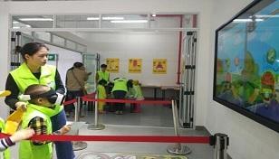 两江新区儿童交通安全体验馆试运营