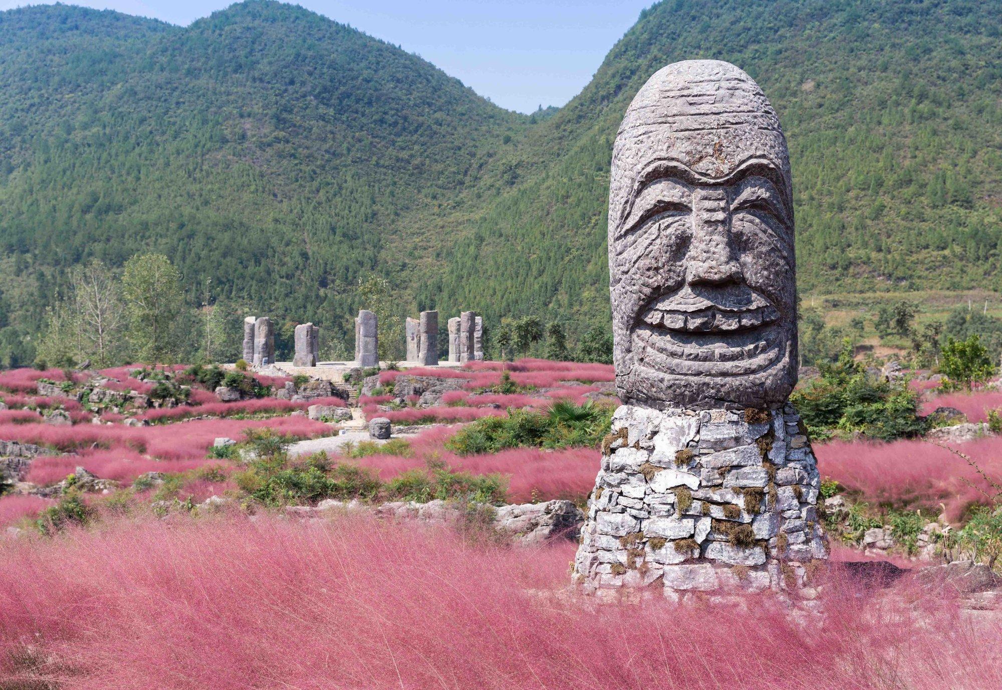石头会说话?重庆这景区一天穿越一亿年