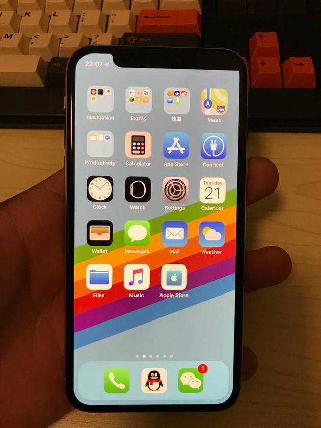 只剩一个猫耳朵的iPhone X绝对是限量版