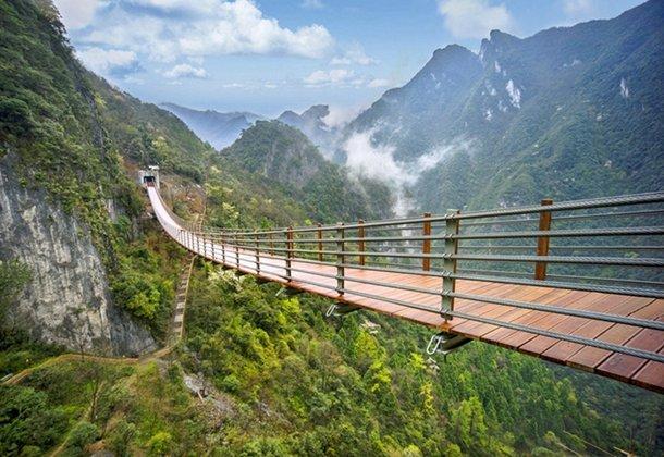 周游记之武陵山大裂谷 看风景如画