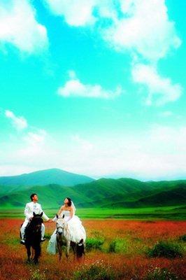 旅行结婚:花海婚纱摄影外景地盘点