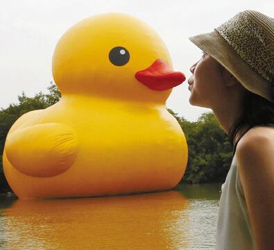 大黄鸭来万盛啦  唤醒你的童年记忆