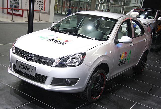 [国内车讯]和悦iEV4电动车将于2月28日上市