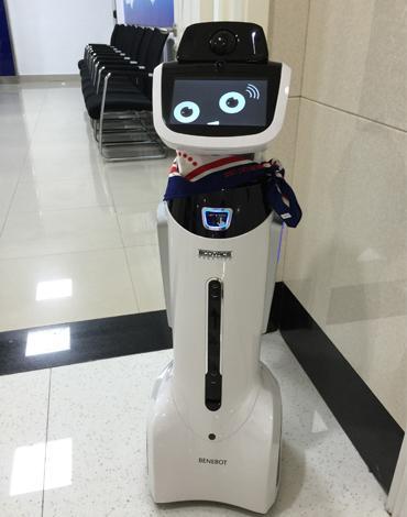 现 美女 智能机器人 娇娇