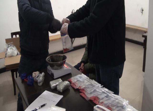 巴南警方打掉一跨省贩毒团伙 缴获毒品约4公斤