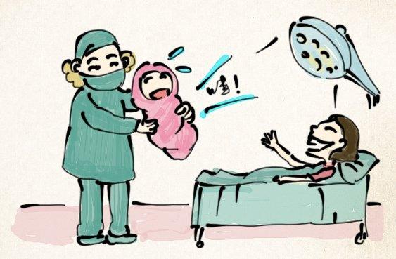 护士卡通图片难过