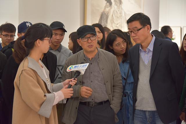 袁武、张江舟、梁占岩水墨作品亮相重庆美术馆