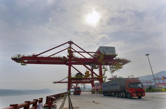 重庆第二大港龙头港正式开港 年吞吐能力3000万吨