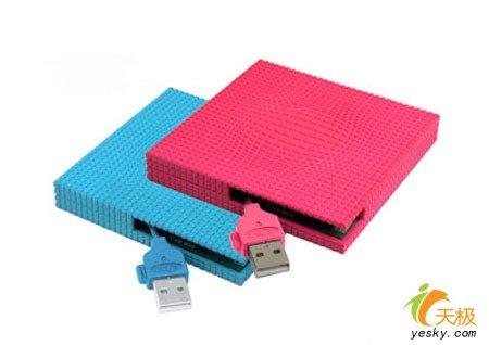 硬盘也能甜蜜 缤纷色彩移动硬盘推荐