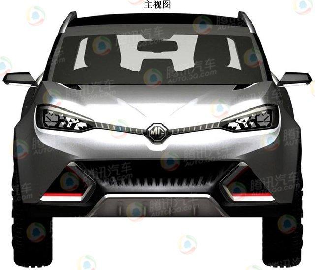 [新车谍报]MG首款SUV申报图曝光 明年推出