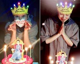 组图:许晴庆48岁生日 素颜出镜依旧娇美