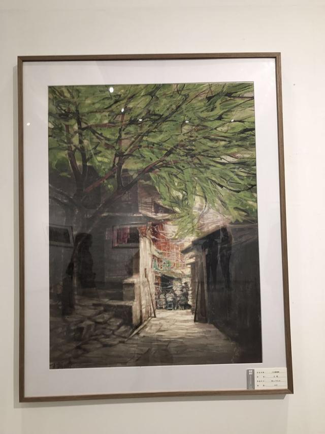 """""""峰彩""""水彩画展开幕 三位青年艺术家作品亮相"""