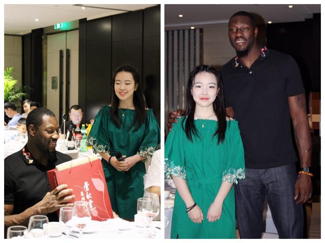 公益少女初长成 留美女孩胡涵月助力大本首次中国篮球公益行