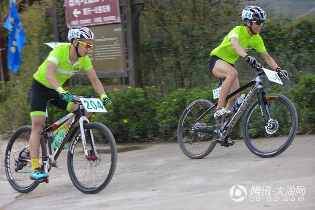第八届重庆天坪山国际山地自行车越野赛在巴南开赛