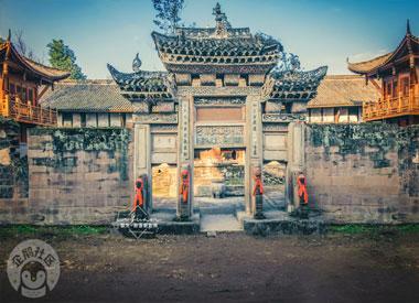 行摄北碚静观塔坪寺 看830余年历史的古刹