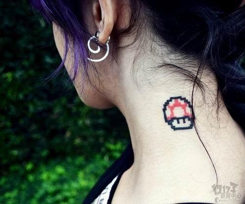 妹子性感游戏纹身大盘点