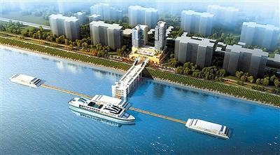 投资8亿丰都国际游轮港开建 可同时停泊24艘大型游轮