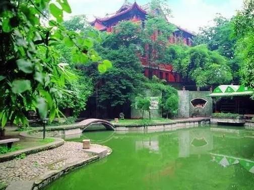 重庆最美公园地图 每一个都值得你珍藏起来