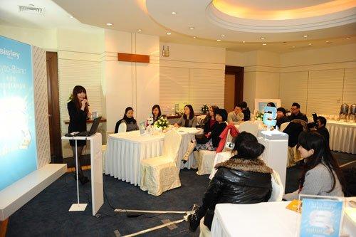 重庆洲际酒店sisley与媒体见面