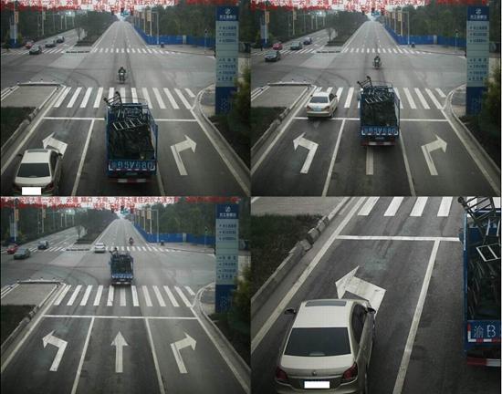 左直行道没车就放大?视频v视频还冤枉被转弯司机局部觉得