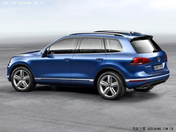 北京车展发布 大众新款途锐官图发布