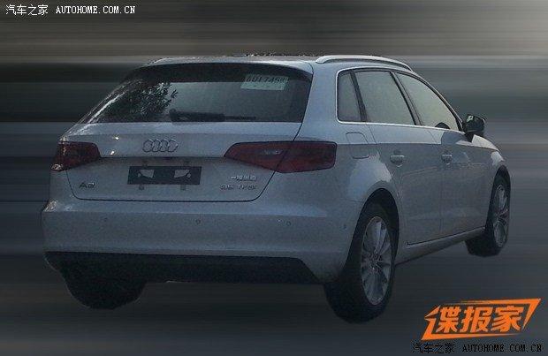 2014年上市 国产奥迪新一代A3测试车高清图片