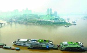年底江北嘴30栋高楼封顶 打造重庆新购物天堂