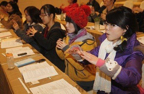 青春践行志愿精神 2012年志愿者培训