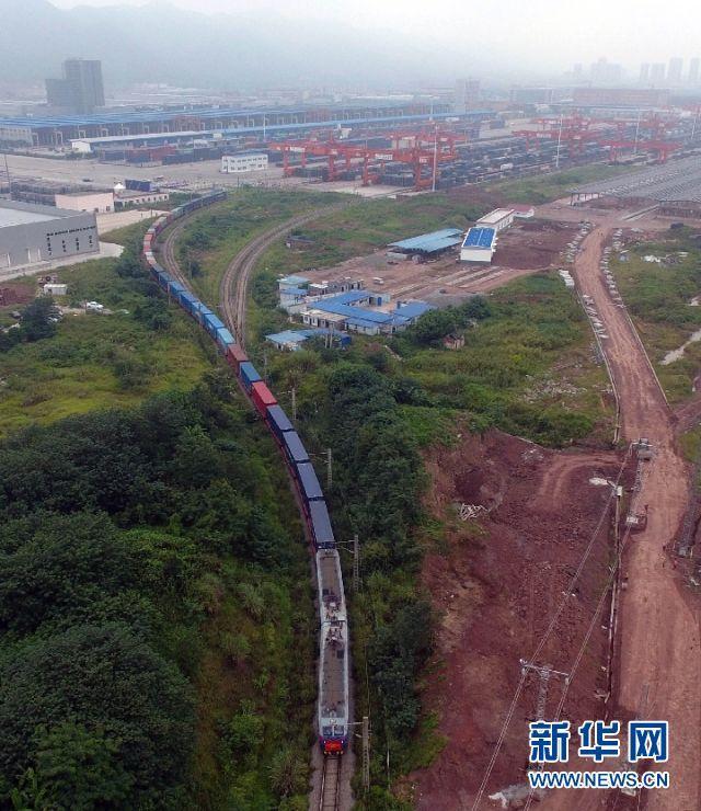 """""""陆海新通道""""成为中国西部快捷开放大通道"""