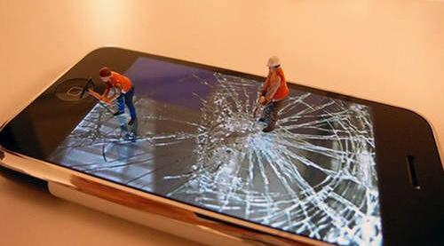 新材料令手机碎屏可在24小时内自行修复